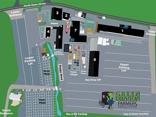 interactive map of lancaster farmers market